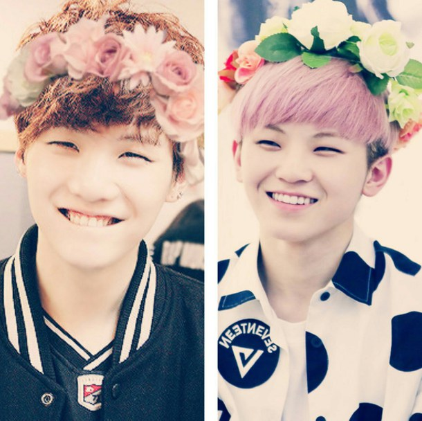Free Download Bts Kpop Seventeen Suga Woozi Image 2939070 By