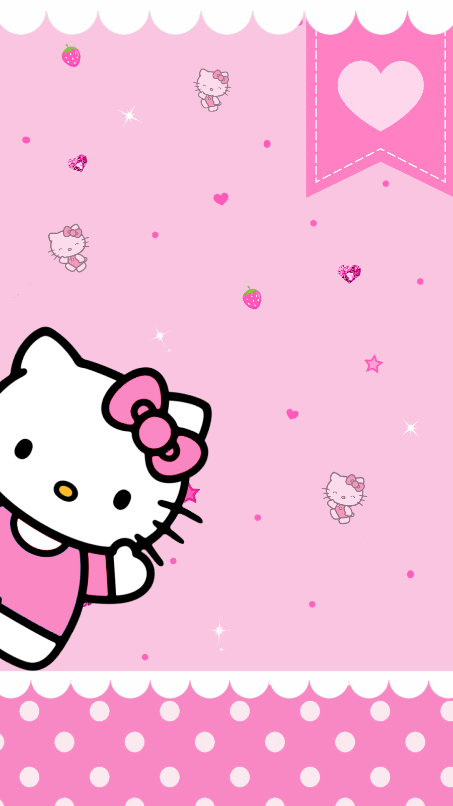 Pink Hello Kitty Wallpapers   Top Pink Hello Kitty 900x1600