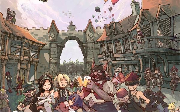 Final Fantasy Concept Art Wallpaper