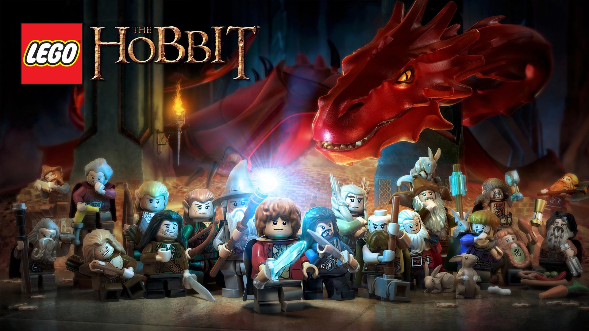 Wallpaper LEGO Le Hobbit 02 sur PS4 Xbox One WiiU PS3 PS Vita 3DS 1920x1080