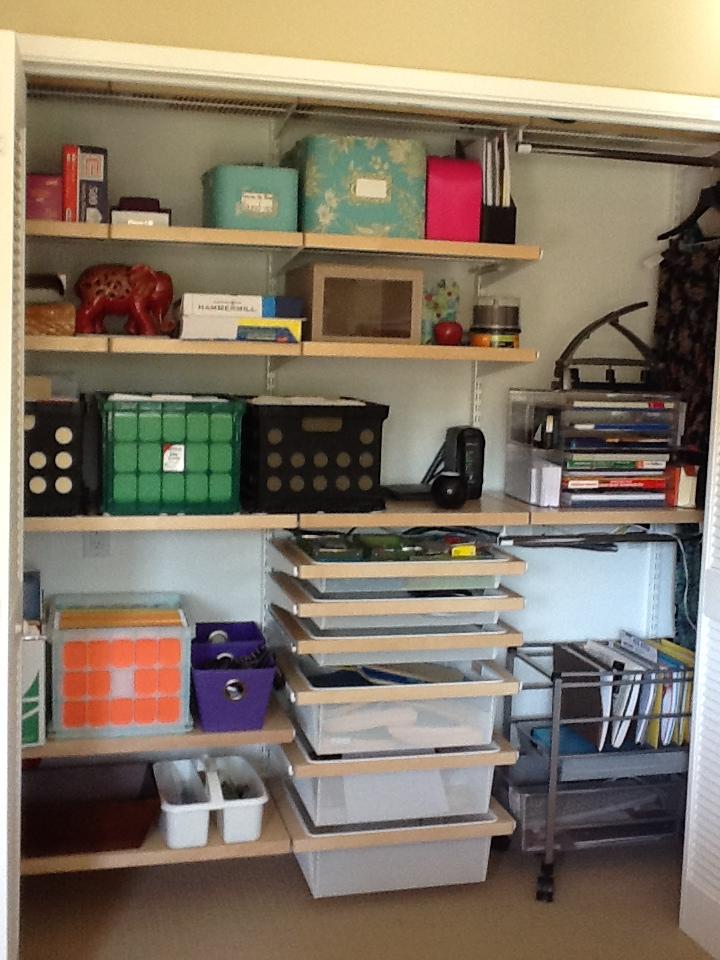 27 Creative Office Closet Organization Ideas