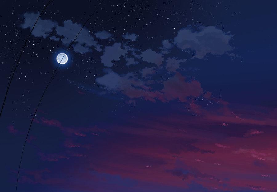 sky night wallpaper by thegamerpr0 900x623