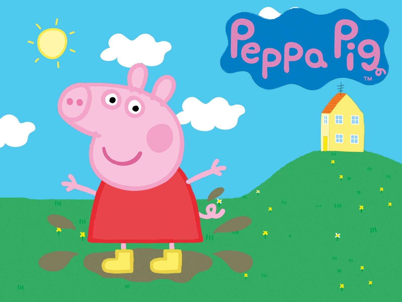 Peppa Pig House Wallpapers   Top Peppa Pig House Backgrounds 1600x1200