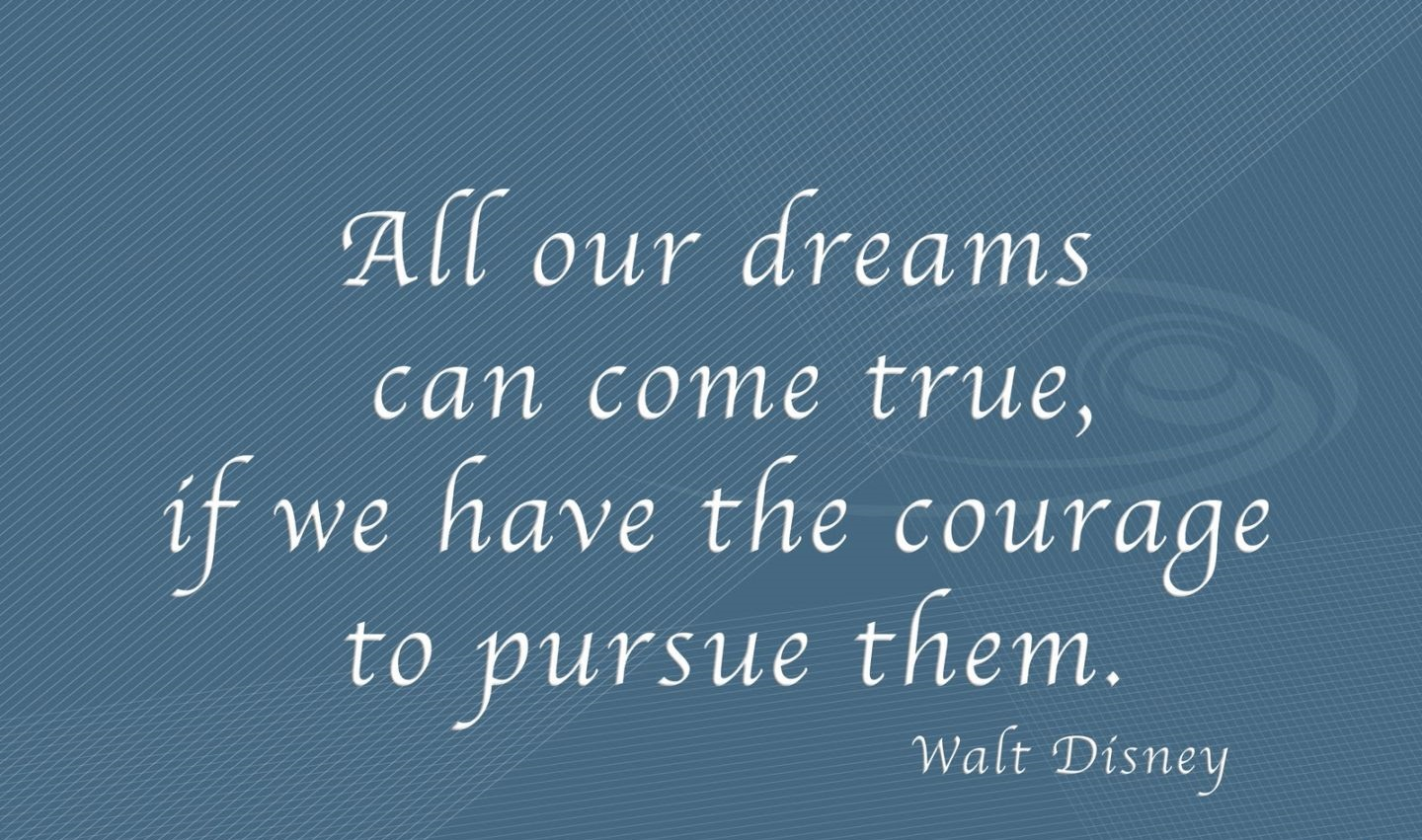 Quote on Dreams By Walt Disney Quotes on Dream Quotes about Dream 1440x851