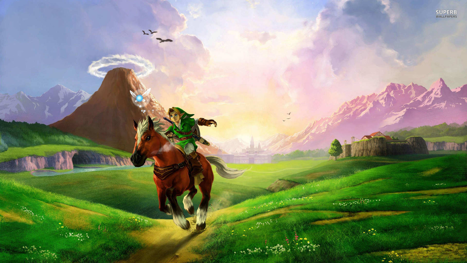 zelda wallpaper 1920x1080the legend of zelda ocarina of time wallpaper 1920x1080