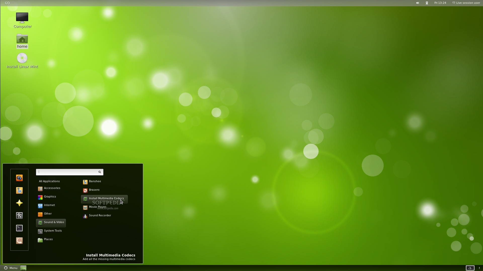 Linux Mint Software Manager 1920x1080