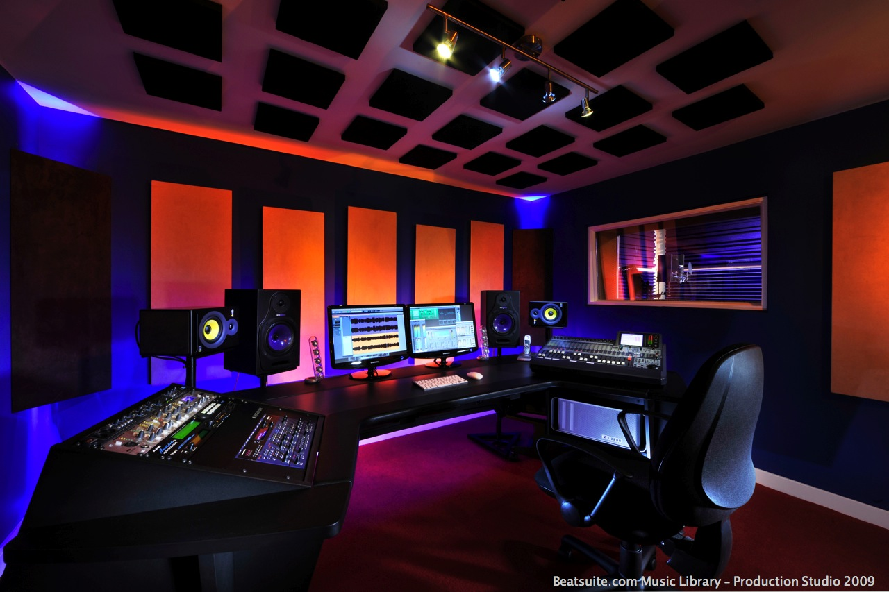 Groovy Music Studio Wallpaper Wallpapersafari Largest Home Design Picture Inspirations Pitcheantrous