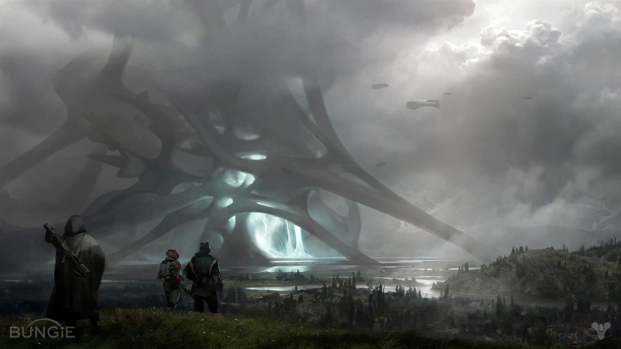 Bungie reveals more concept art at Destiny Panel GDC 2013 1278x718
