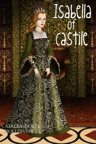Isabella of Castile Queen of Spain by daretoswim7709 400x600