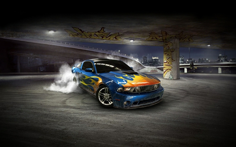 3D Cars Wallpapers for Desktop - WallpaperSafari