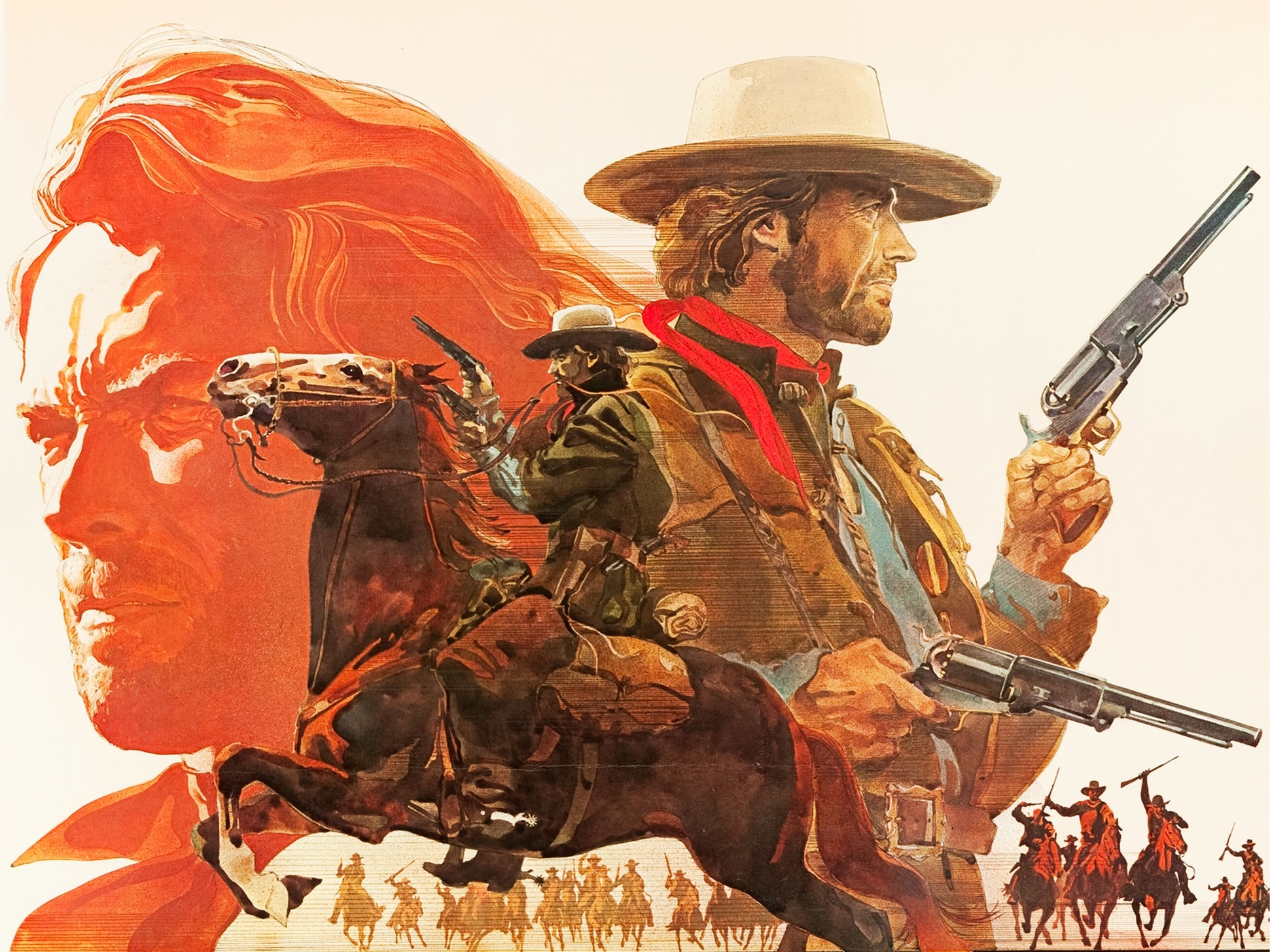 Movie   The Outlaw Josey Wales Wallpaper 1941x1456