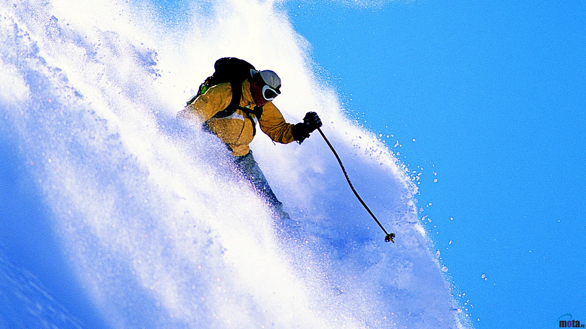 Extreme Hd Wallpapers: Extreme Skiing Wallpaper