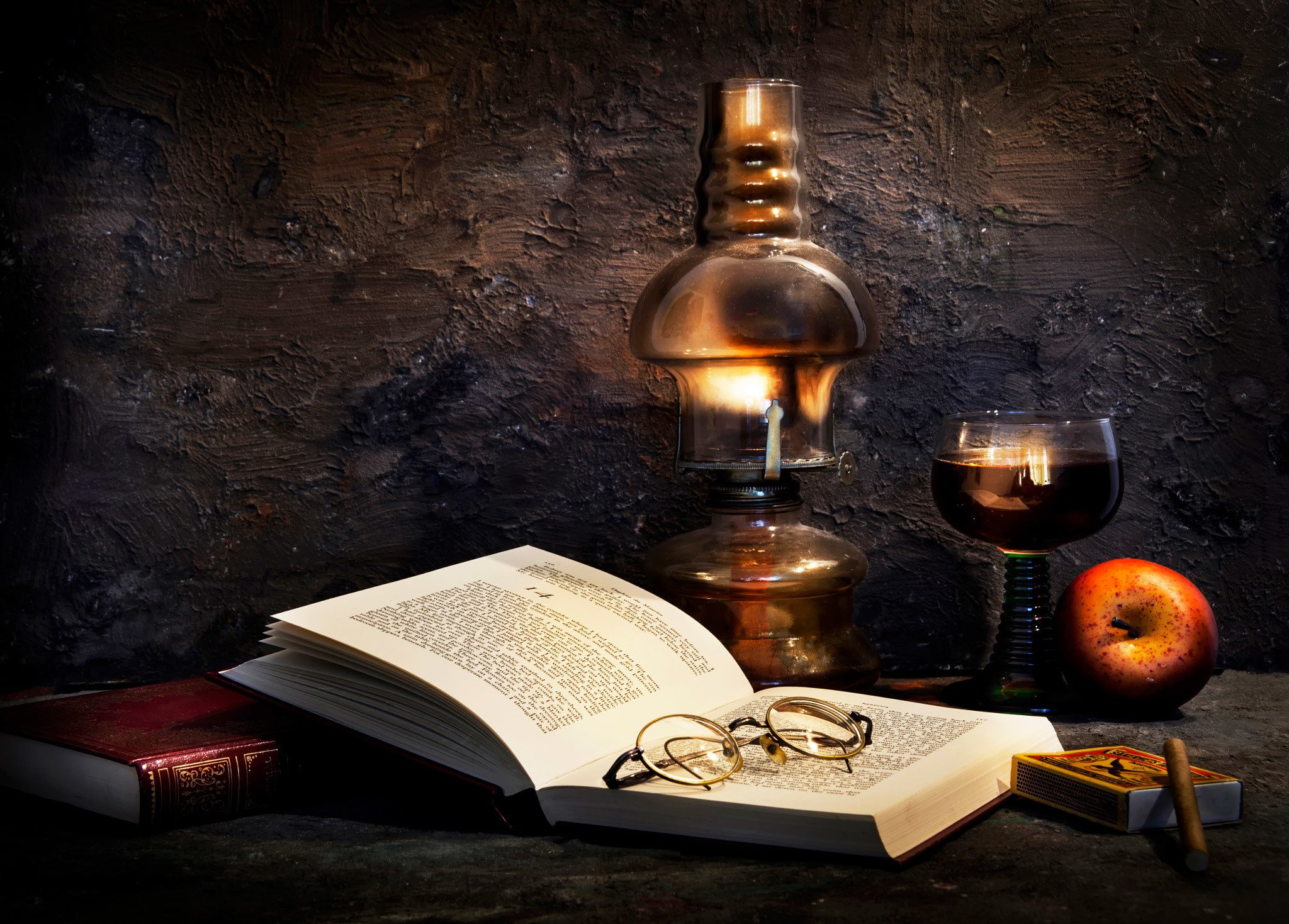 Still Life Old Book Retro Style Wallpaper 2048x1469