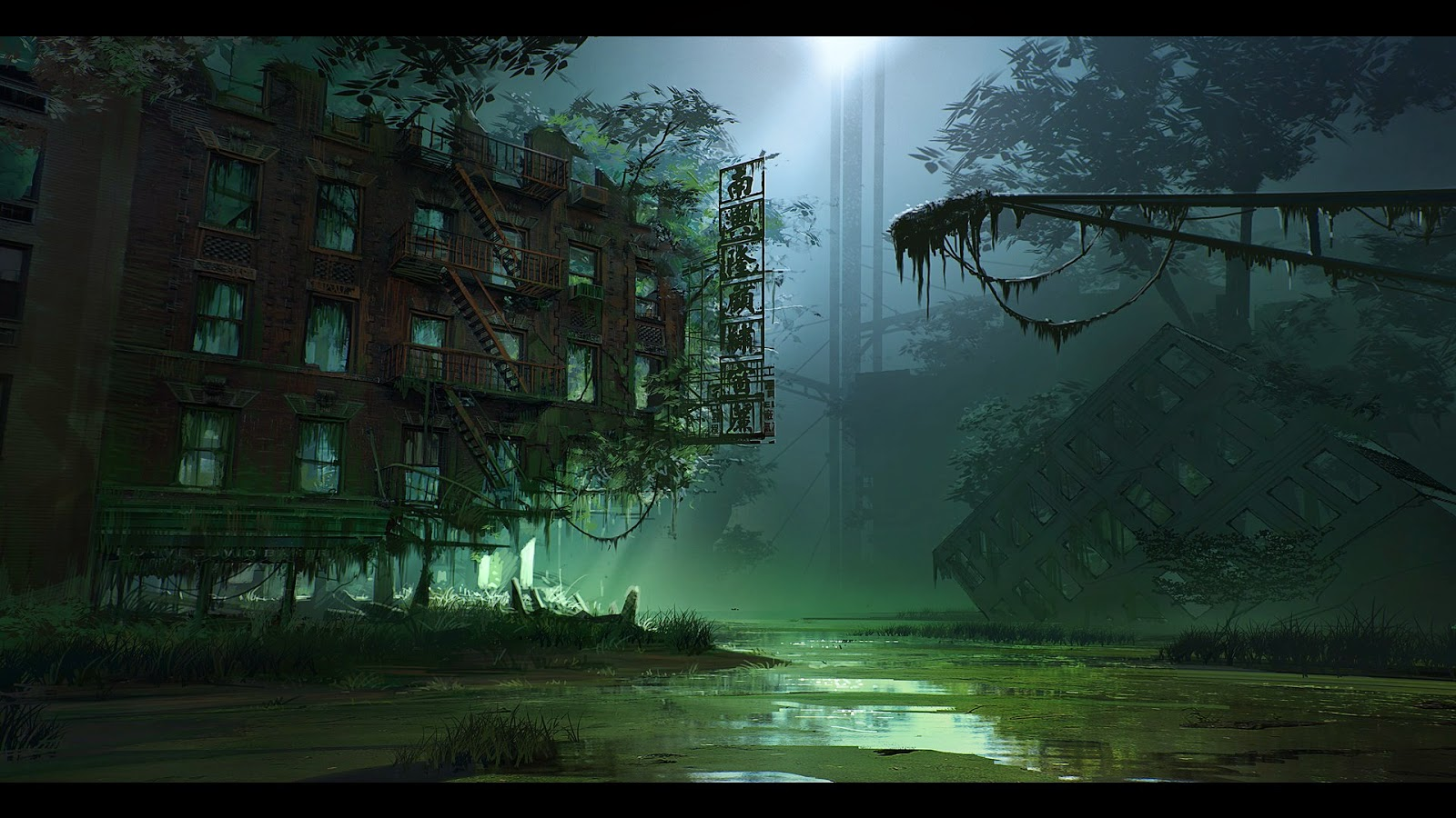 29 swamp hd wallpaper on wallpapersafari - Hd wallpapers of darkness ...