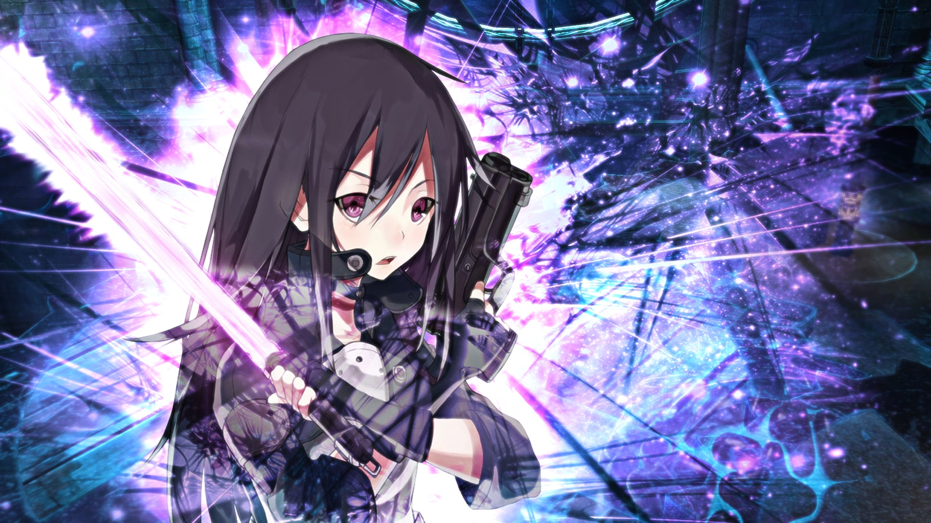 sword art online 2 wallpaper wallpapersafari