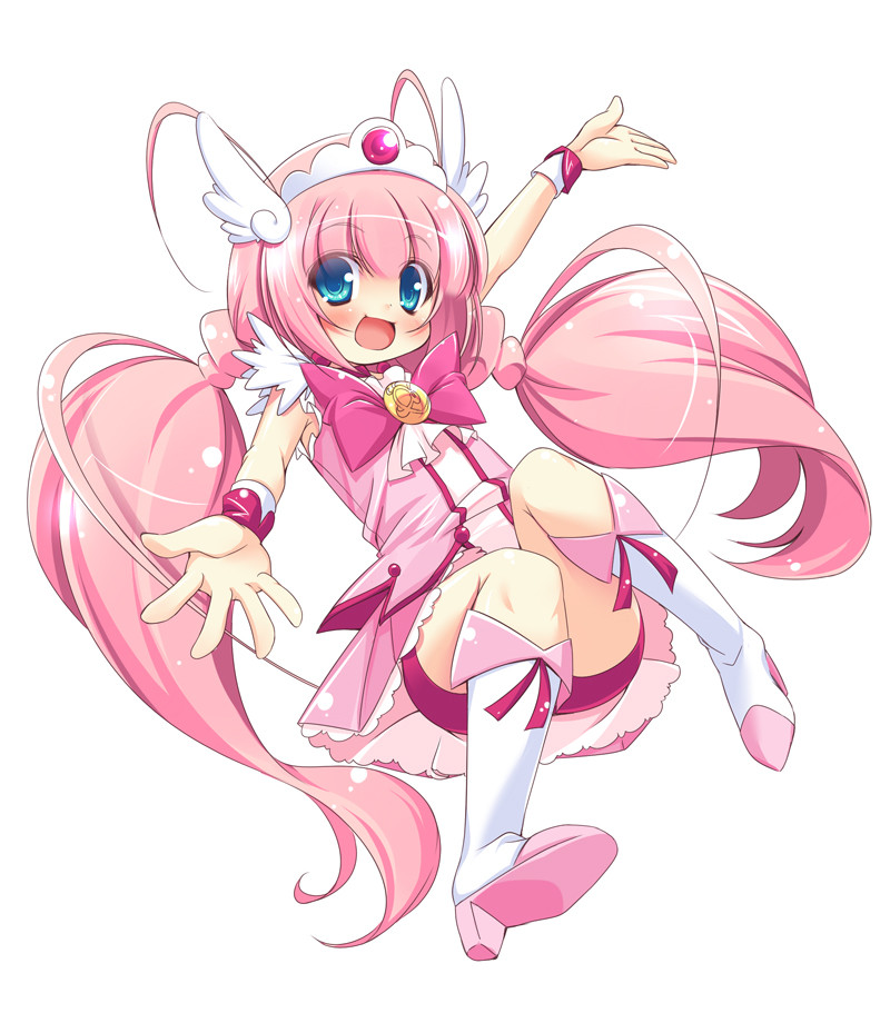 Glitter Force Pretty Cure Smile and Glitter 800x920