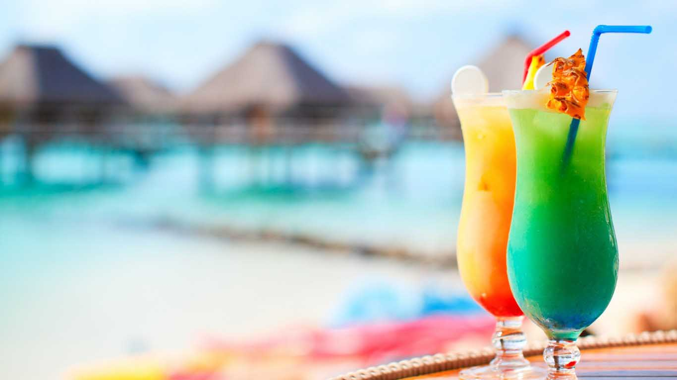 Tropical Drink HD Wallpaper for Desktop 12328 HD Image 1366x768 1366x768