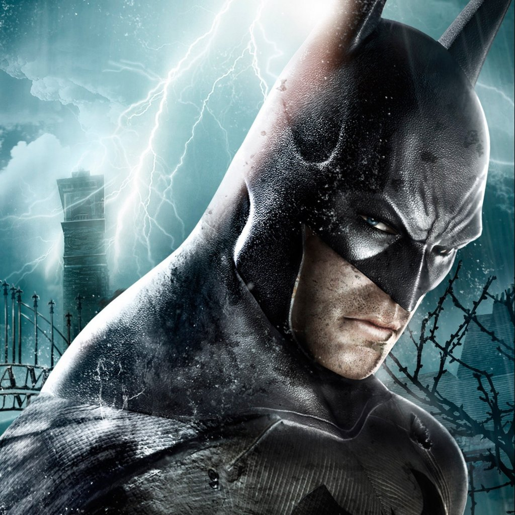Video game Batman Arkham Asylum iPad wallpaper 1024x1024