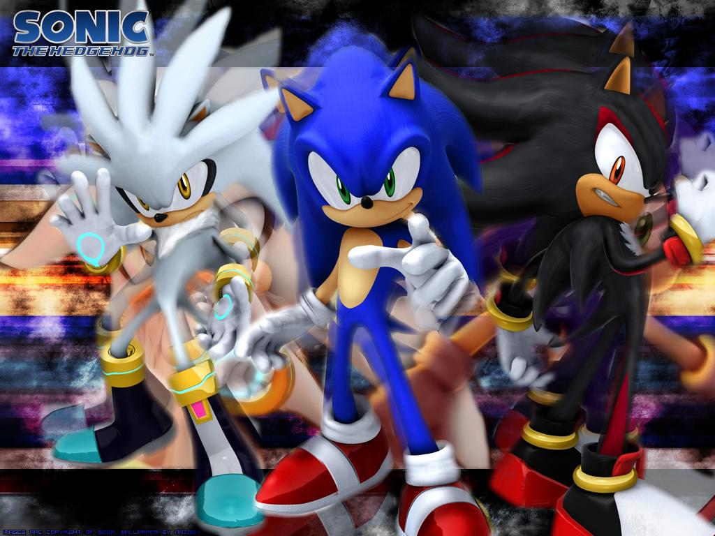 Sonic shadow and silver wallpaper wallpapersafari - Sonic et shadow ...