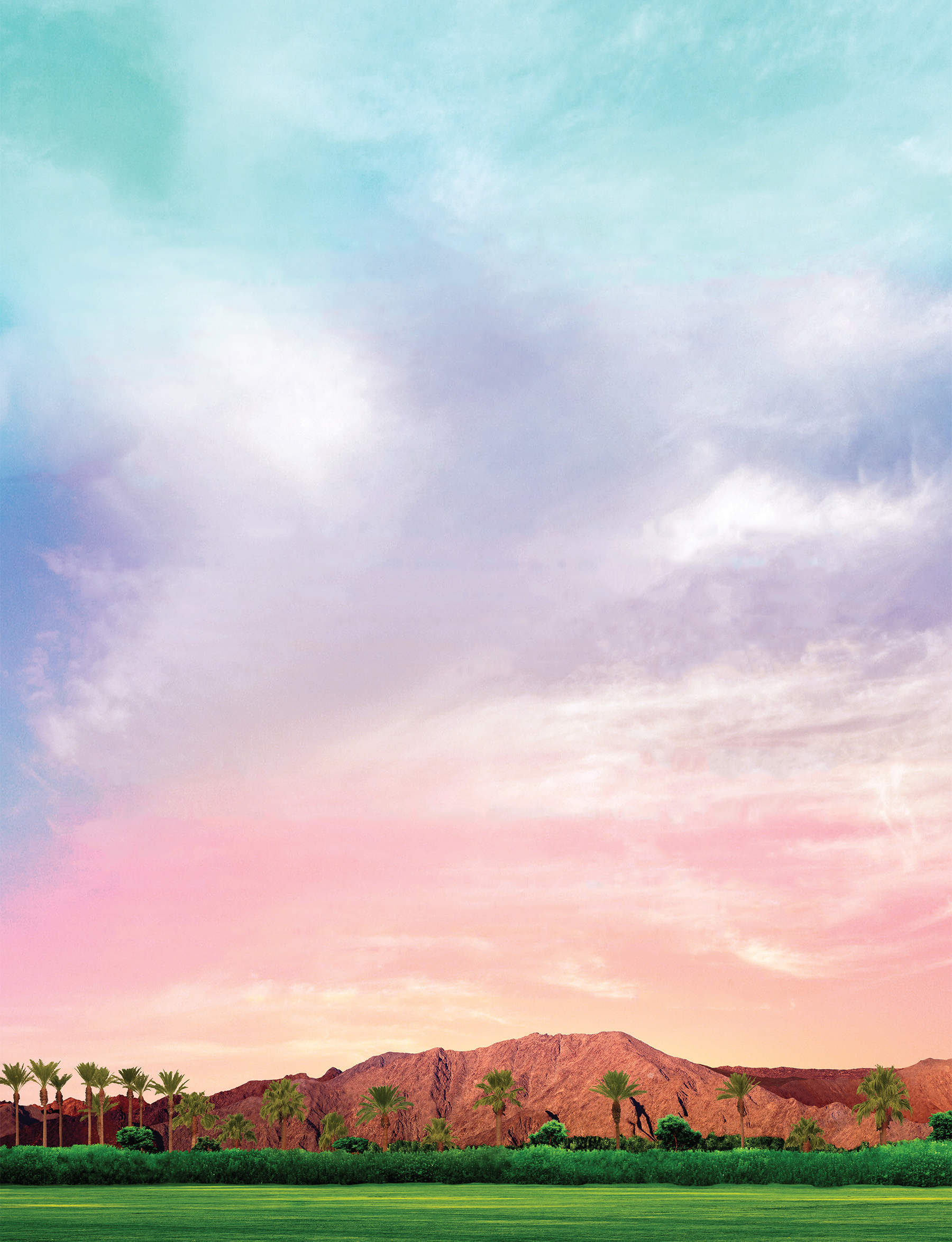 The blank Coachella background I made for my mix cover 1800x2349