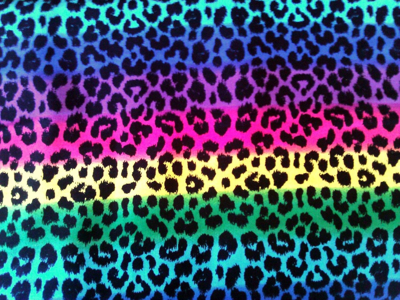 Colorful cheetah wallpaper wallpapersafari for Printed wallpaper