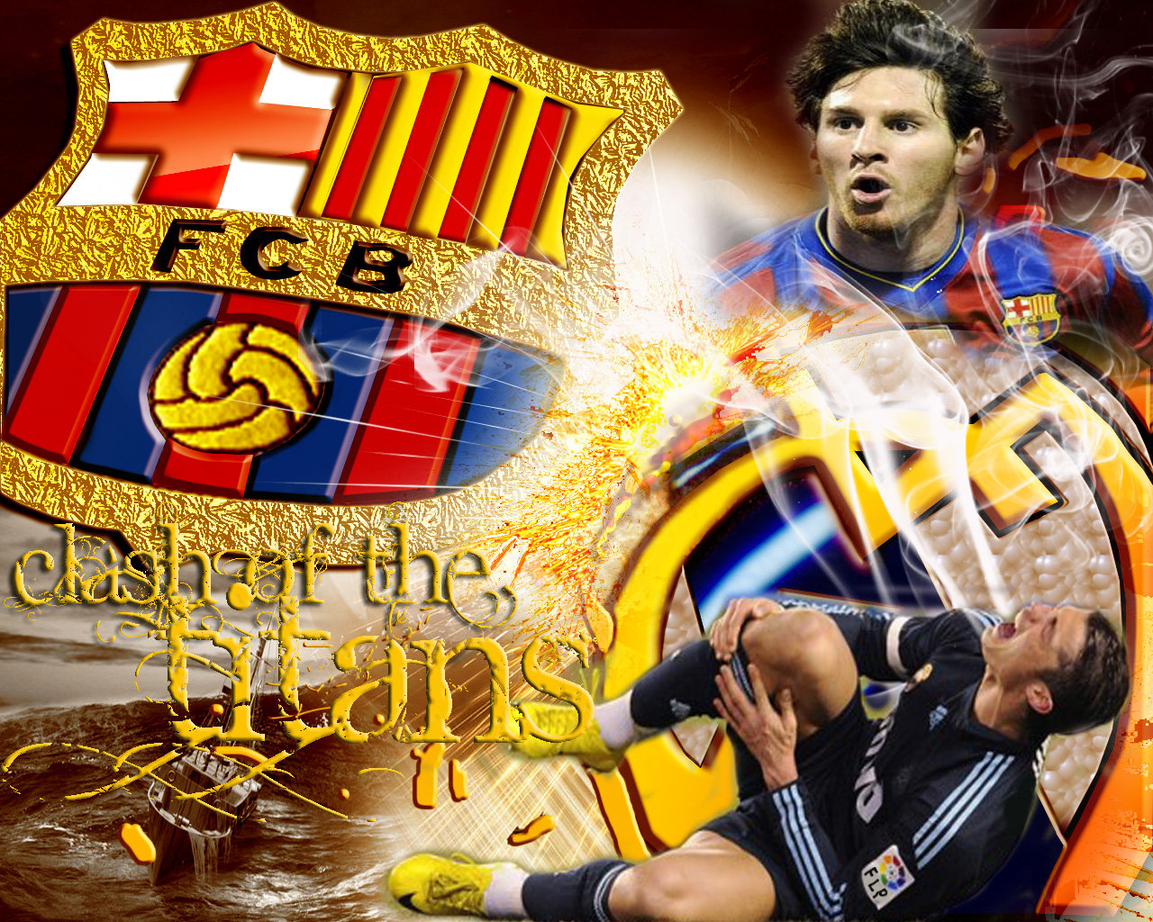 Fc Barcelona Vs Real Madrid Wallpaper BarcelonaWallpaper Barcelona 1280x1024