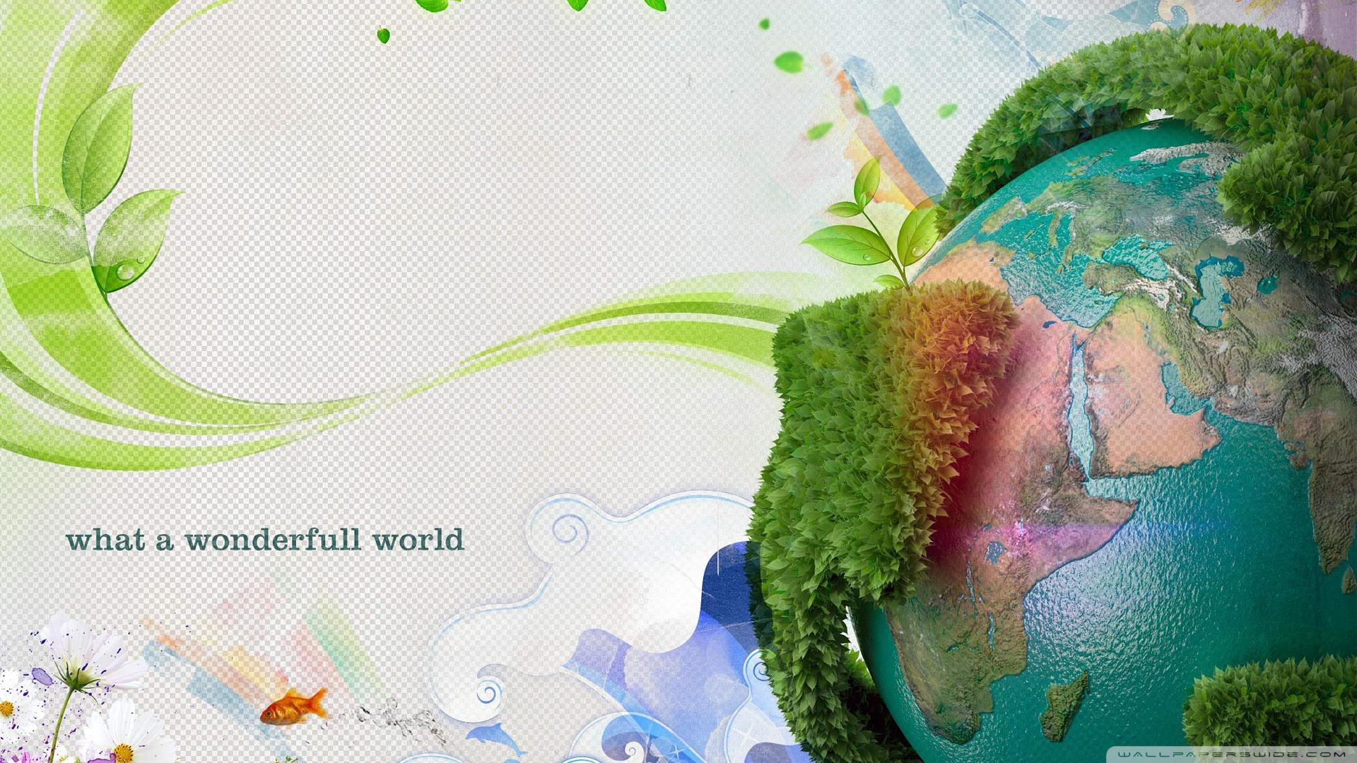 Earth Day 4K HD Desktop Wallpaper for 4K Ultra HD TV Wide 1920x1080