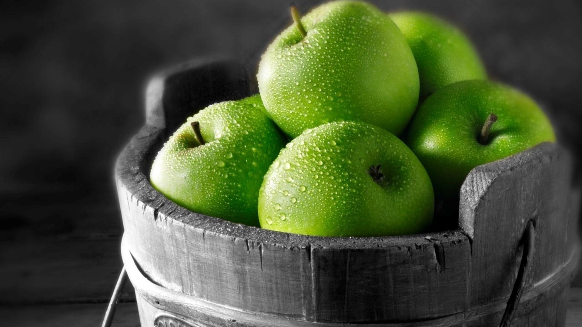 Green Apple Fruit Wallpapers   1920x1080   440525 1920x1080