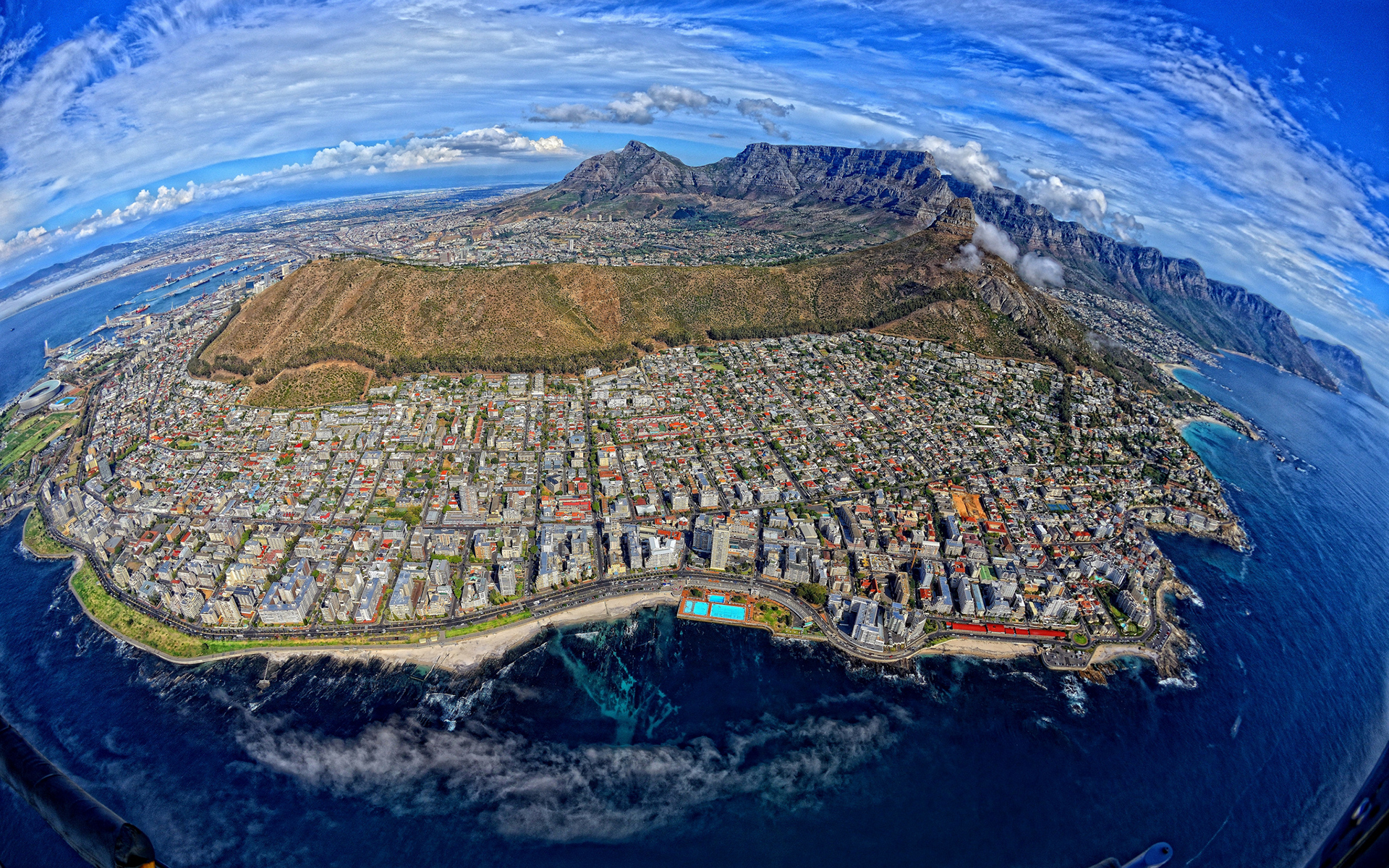 Drone images show the architecture of apartheid in Cape Town is Aerial photography cape town