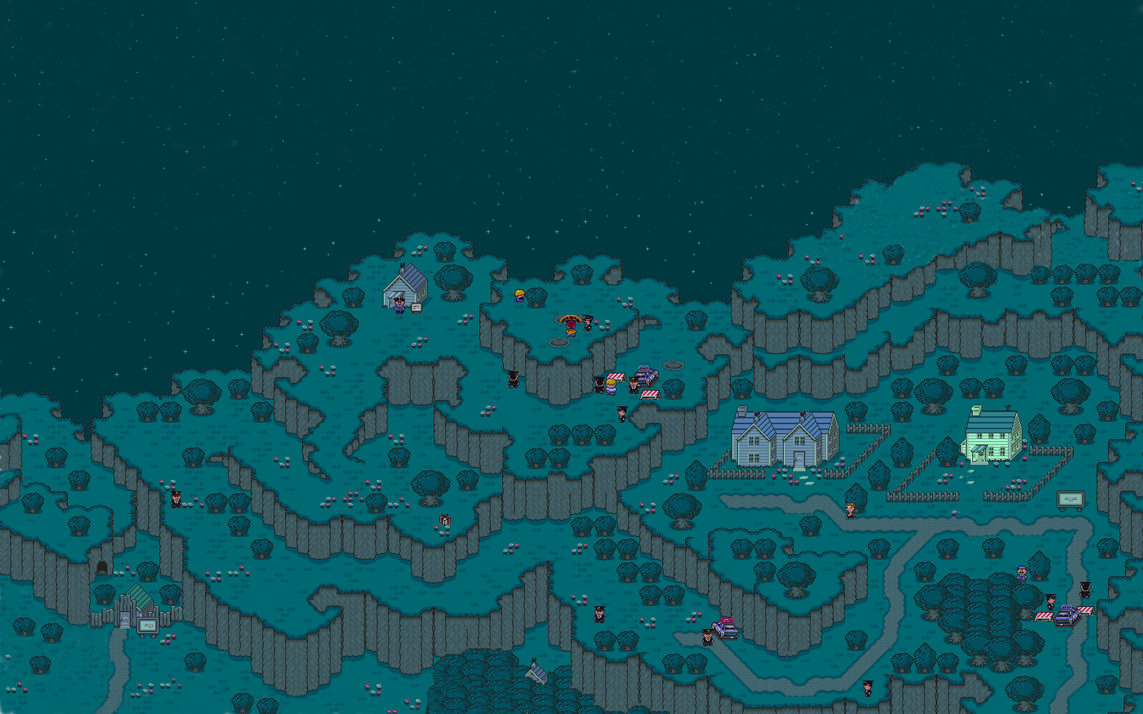 Video Game   Earthbound Wallpaper 1600x1000