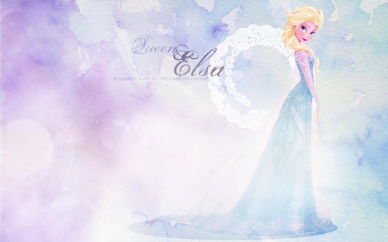 queen elsa frozen wallpaper wallpapersafari