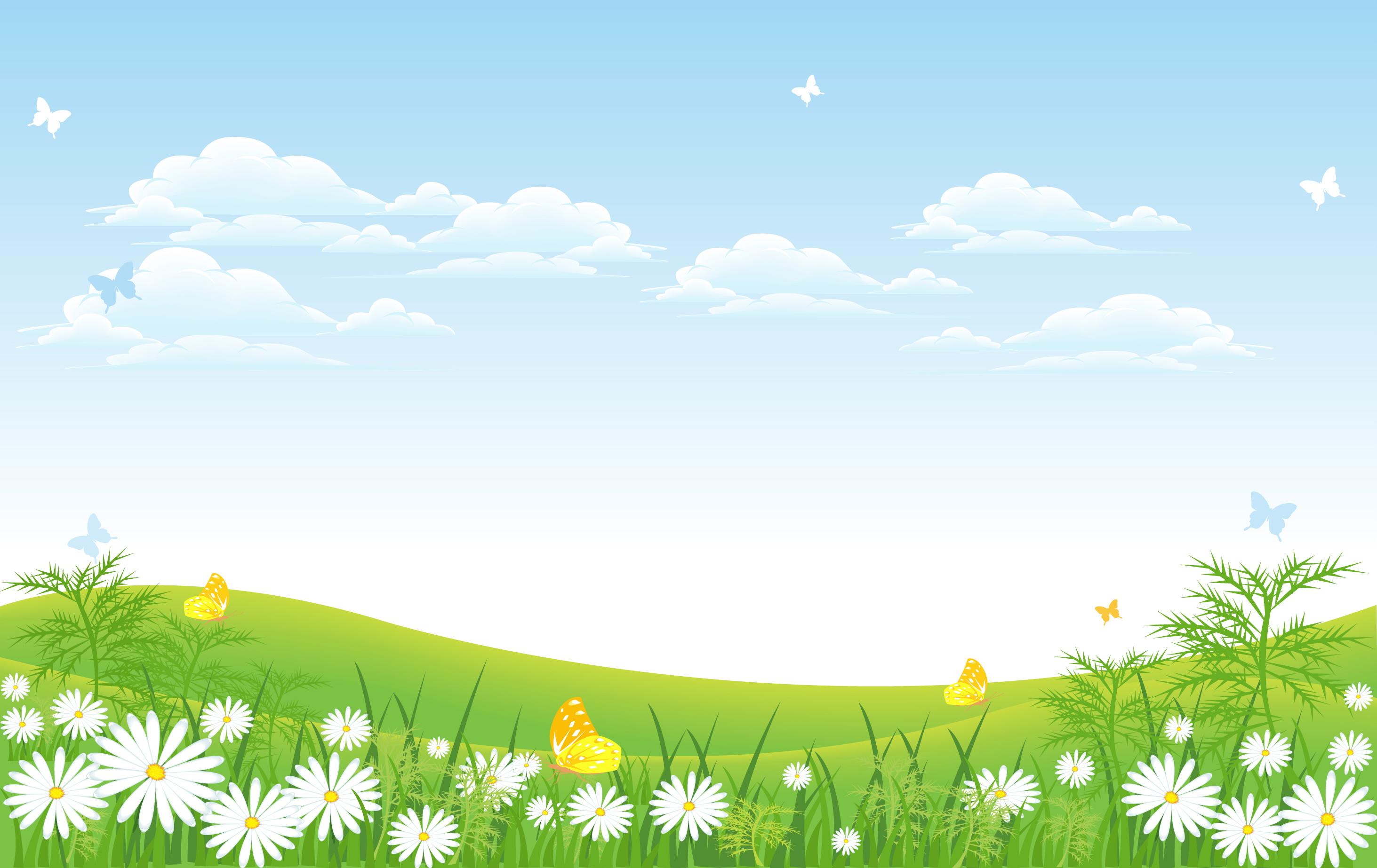 Летний фон картинки для детей