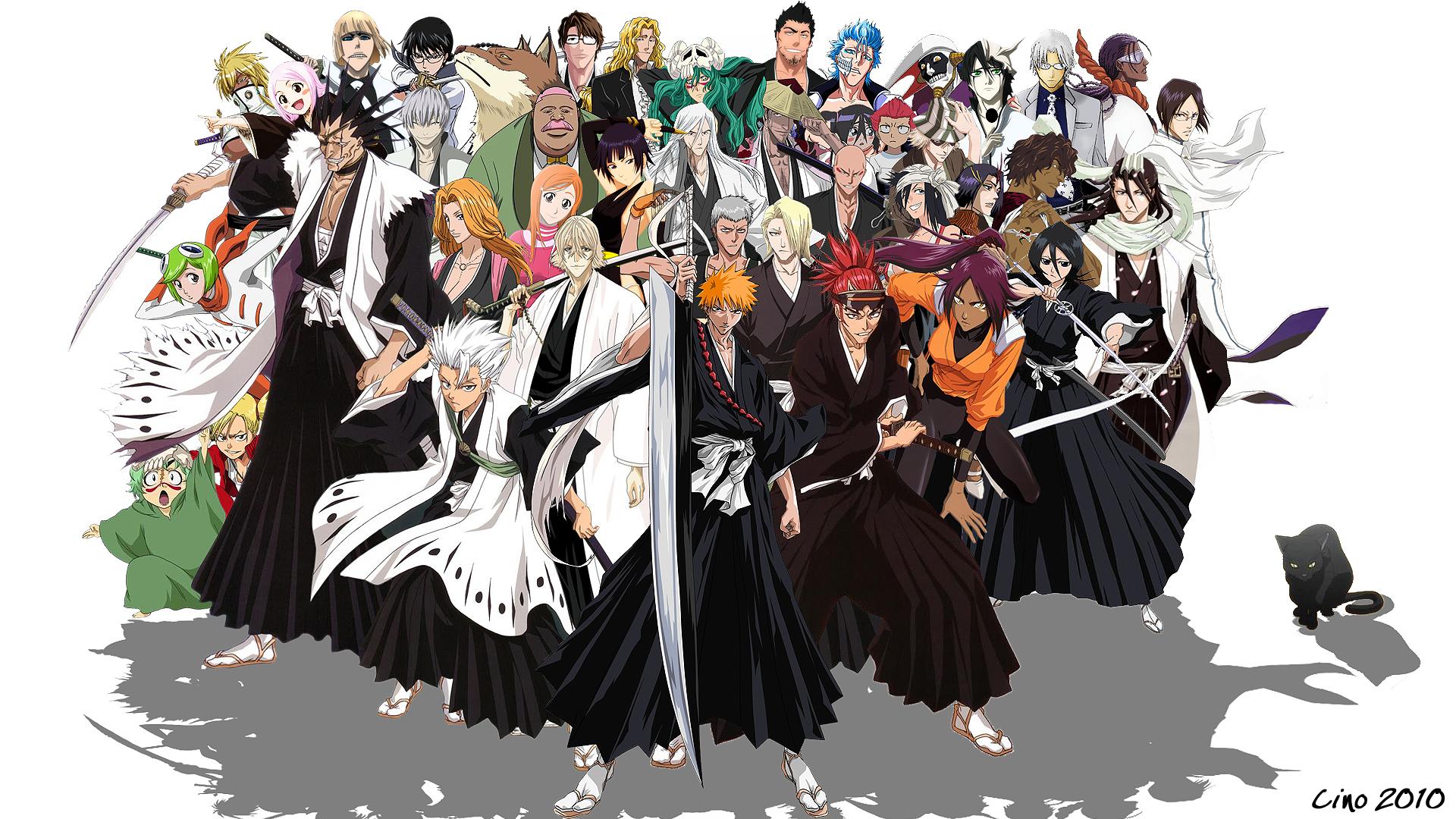Ichigo Kurosaki Bleach CHaracters Anime Pictures Gallery Wallpapers HD 1920x1080