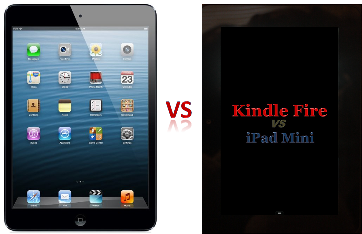 The comparison of the Kindle Fire HD and iPad Mini discusses the Top 5 1188x767