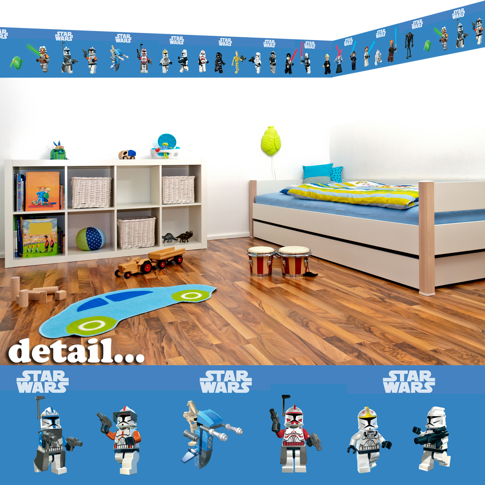 Details about Lego Star Wars Self Adhesive Decorative Wall Border   5 1688x1688