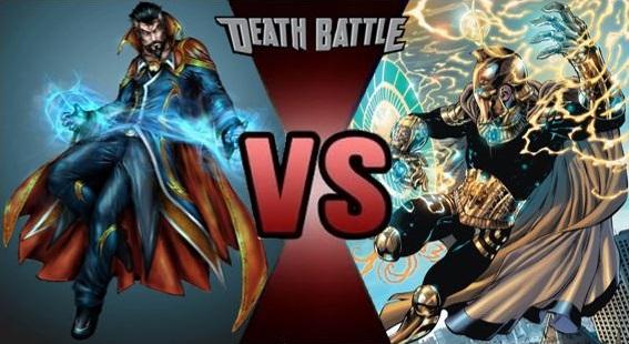 Doctor Strange vs Doctor Fate by FEVG620 567x310