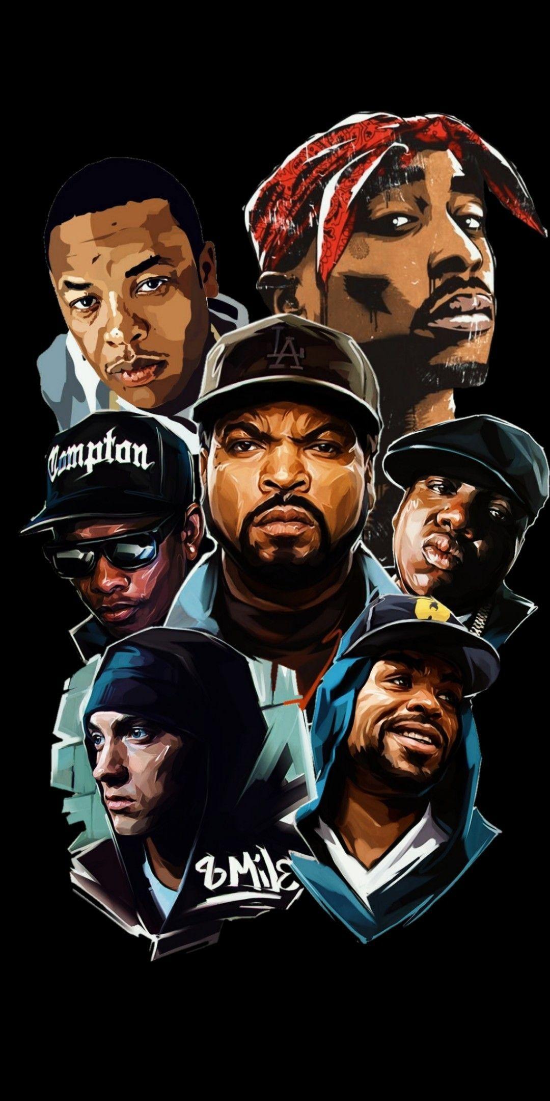Hip Hop Legends Hip hop poster Hip hop tattoo Hip hop art 1080x2160