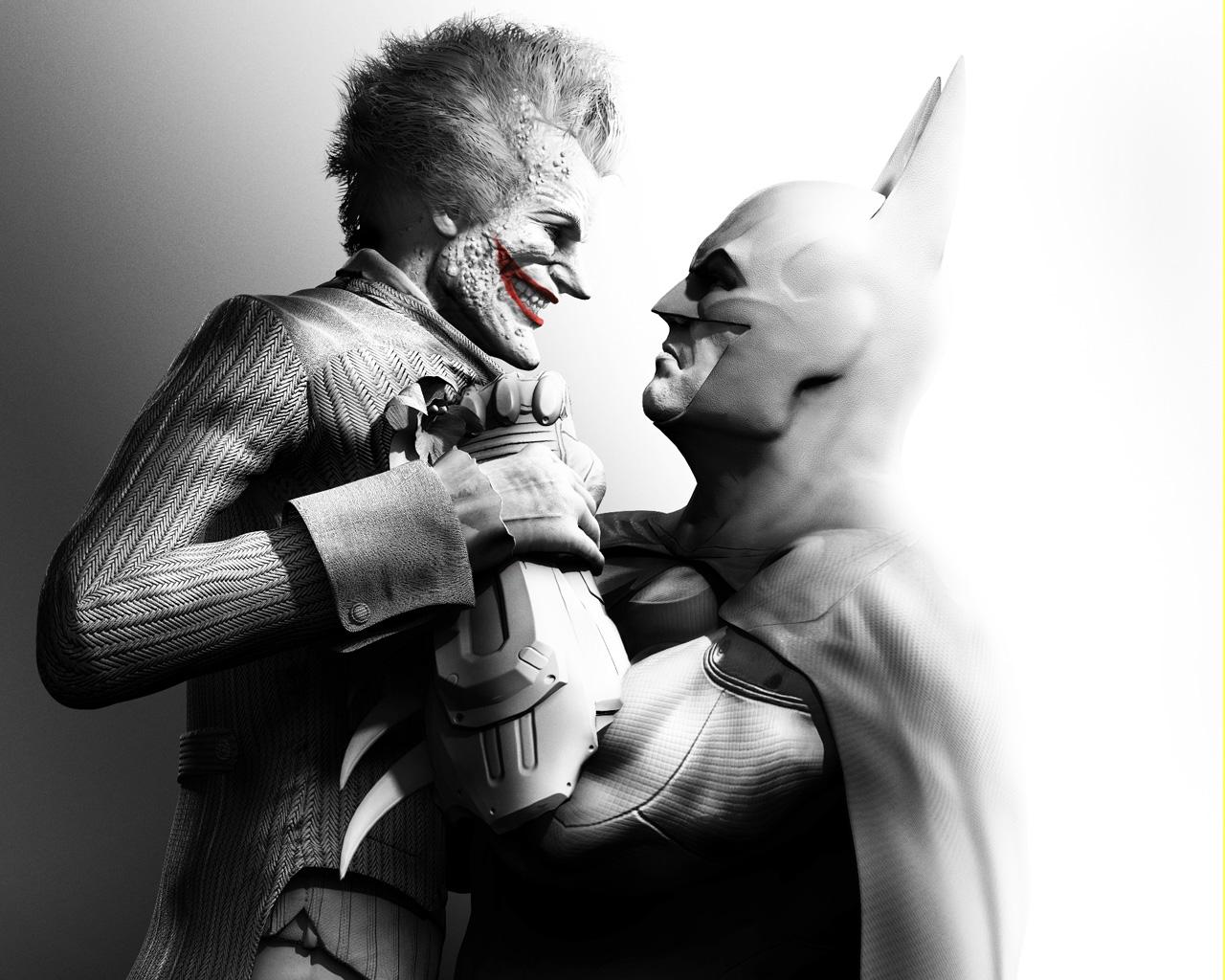 Home Wallpaper Batman Arkham City Batman Arkham City   Joker Wallpaper 1280x1024