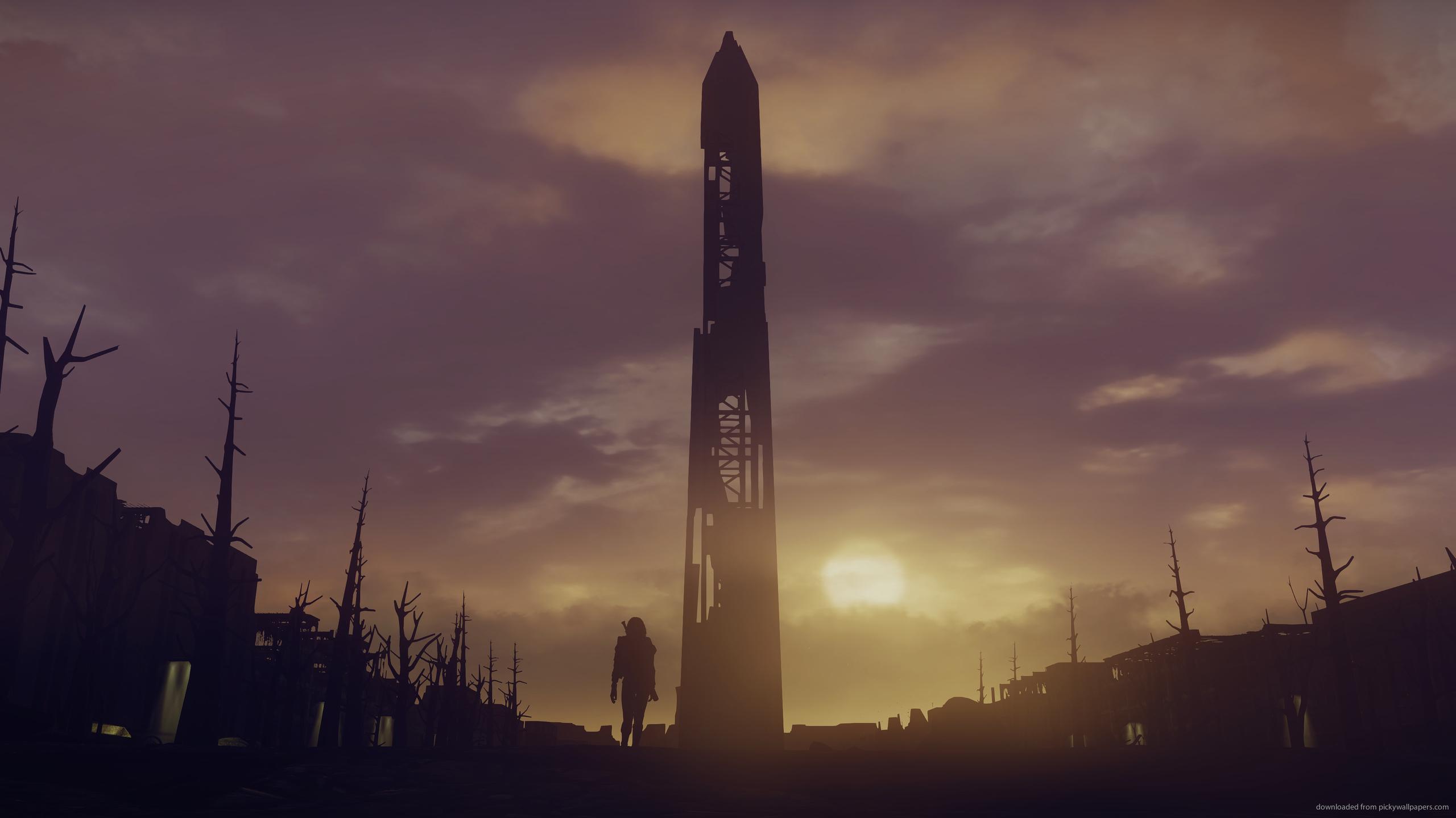 Fallout 4 Wallpaper 2560x1440