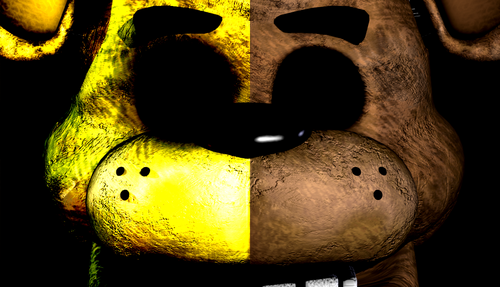 Five Nights at Freddys images Freddy and Golden Freddy HD 500x287