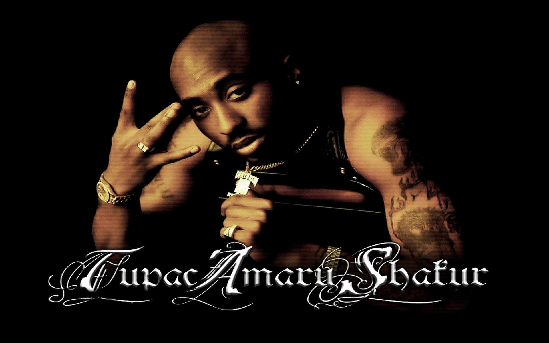 Tupac rap gangsta g wallpaper 1920x1200 45913 WallpaperUP 1920x1200