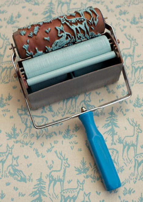 Wallpaper Paint Rollers Cool Classic Patterns DIY Style Urbanist 468x661
