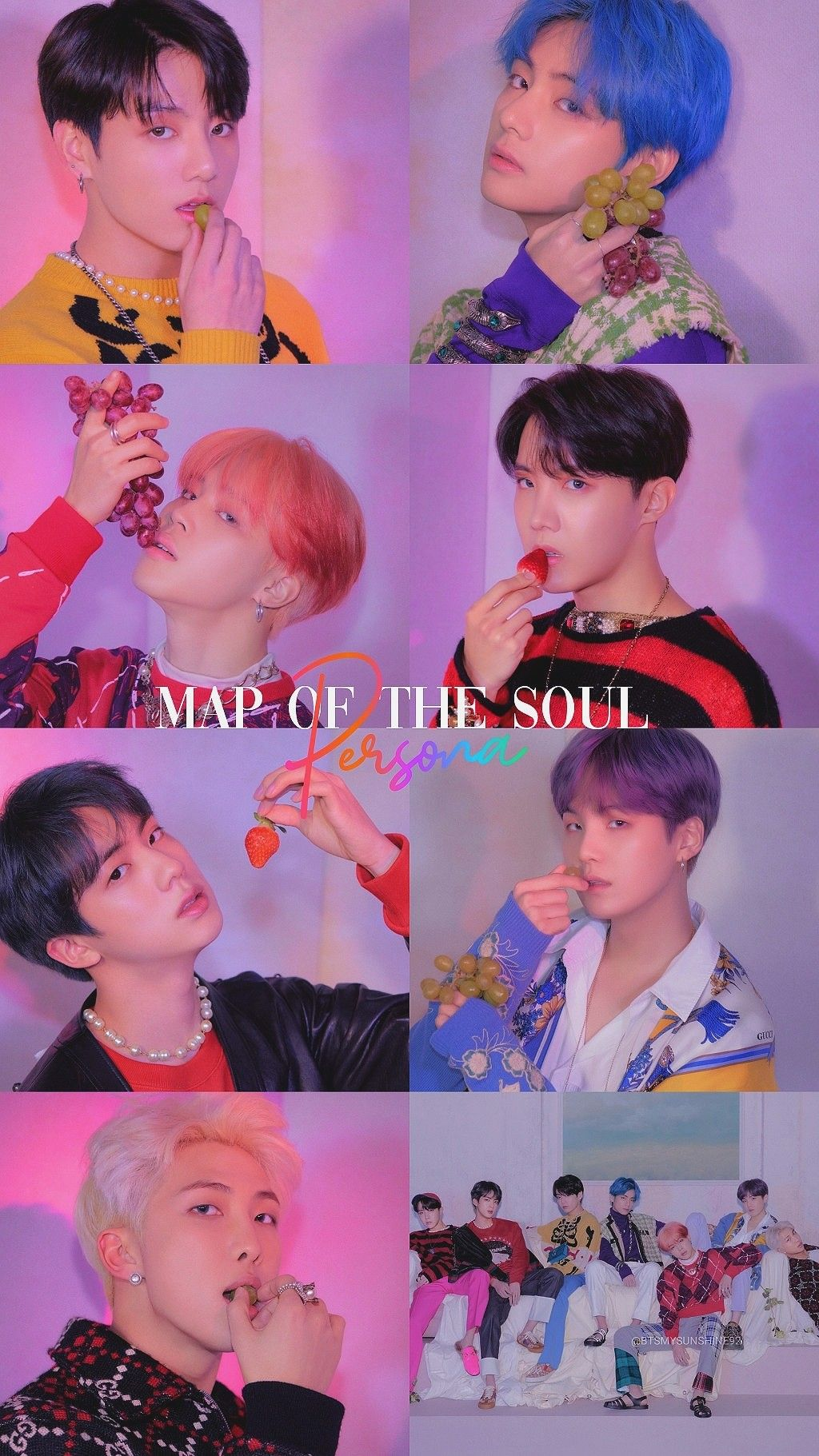Free Download Map Of The Soul Persona Concept Photo Version