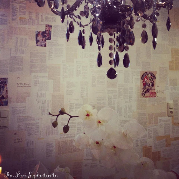 sophisticate DIY Removable Book Page Wallpaper and Removal Review 575x575