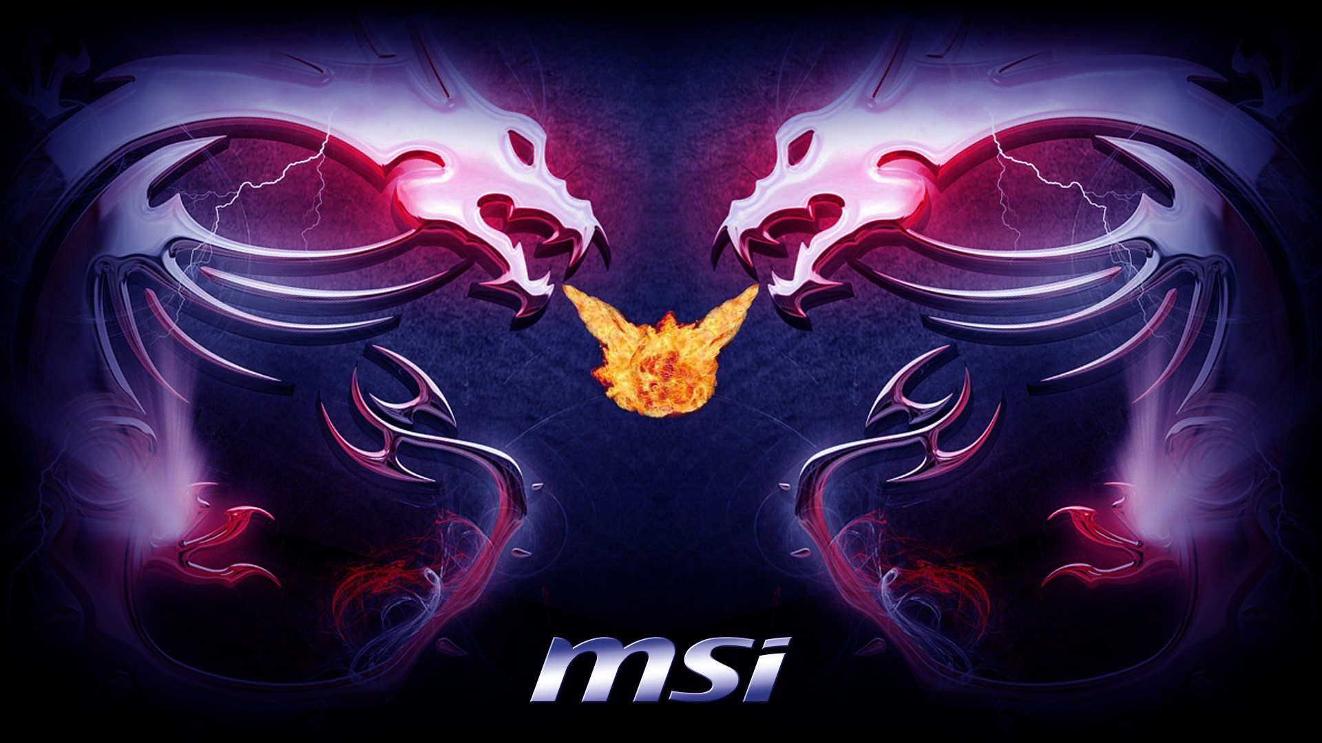 MSI Dragon Logo 1920x1080