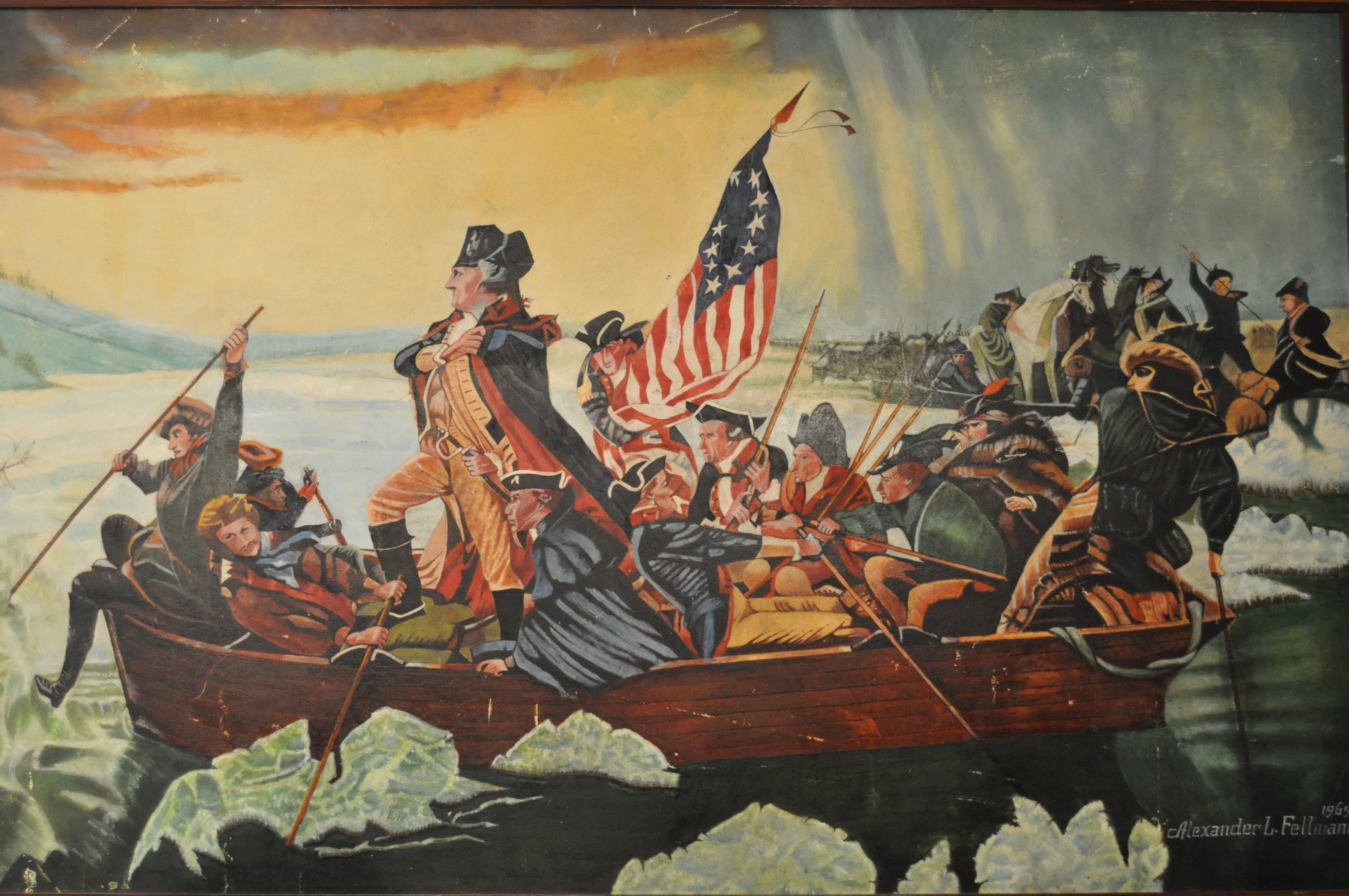 Free Download Washington Crossing The Delaware 4288x2848 For
