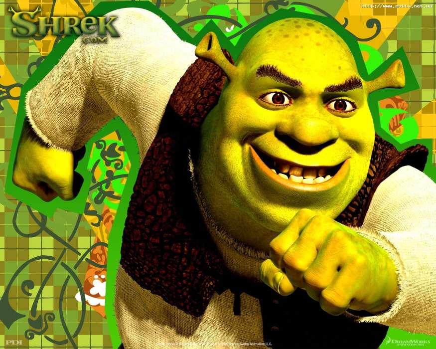Download mobile wallpaper Cartoon Shrek 5078 875x700