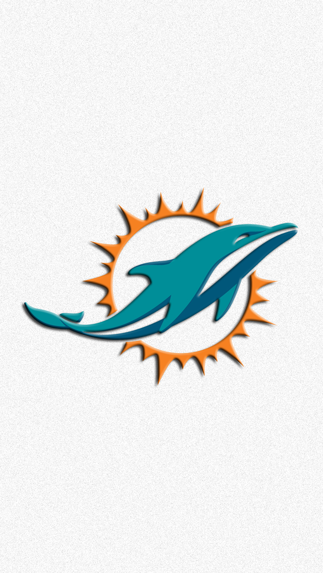 Miami Dolphins Logo Wallpaper 640x1136