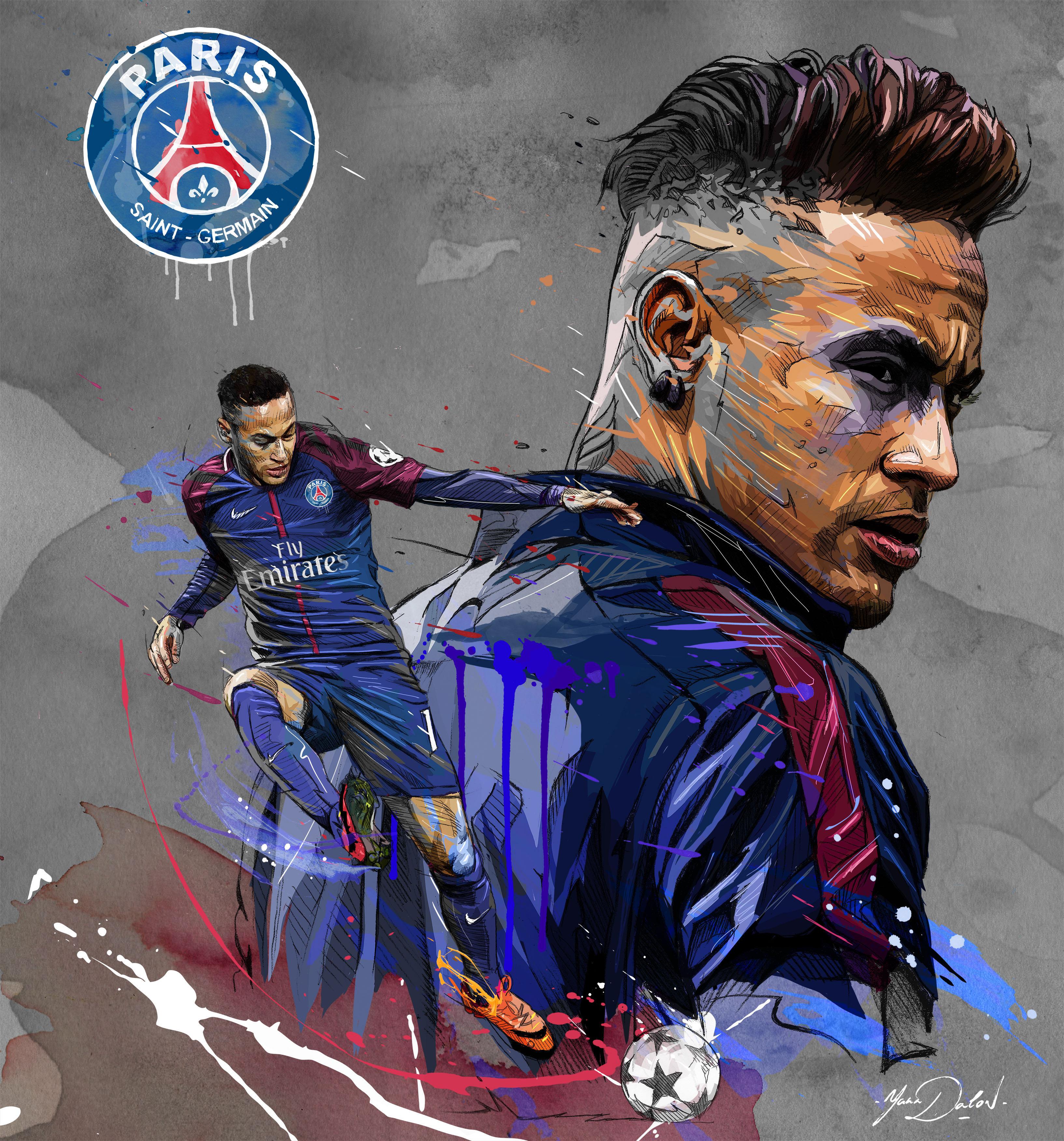 Neymar to PSG by Yann Dalon Forza27 3268x3504