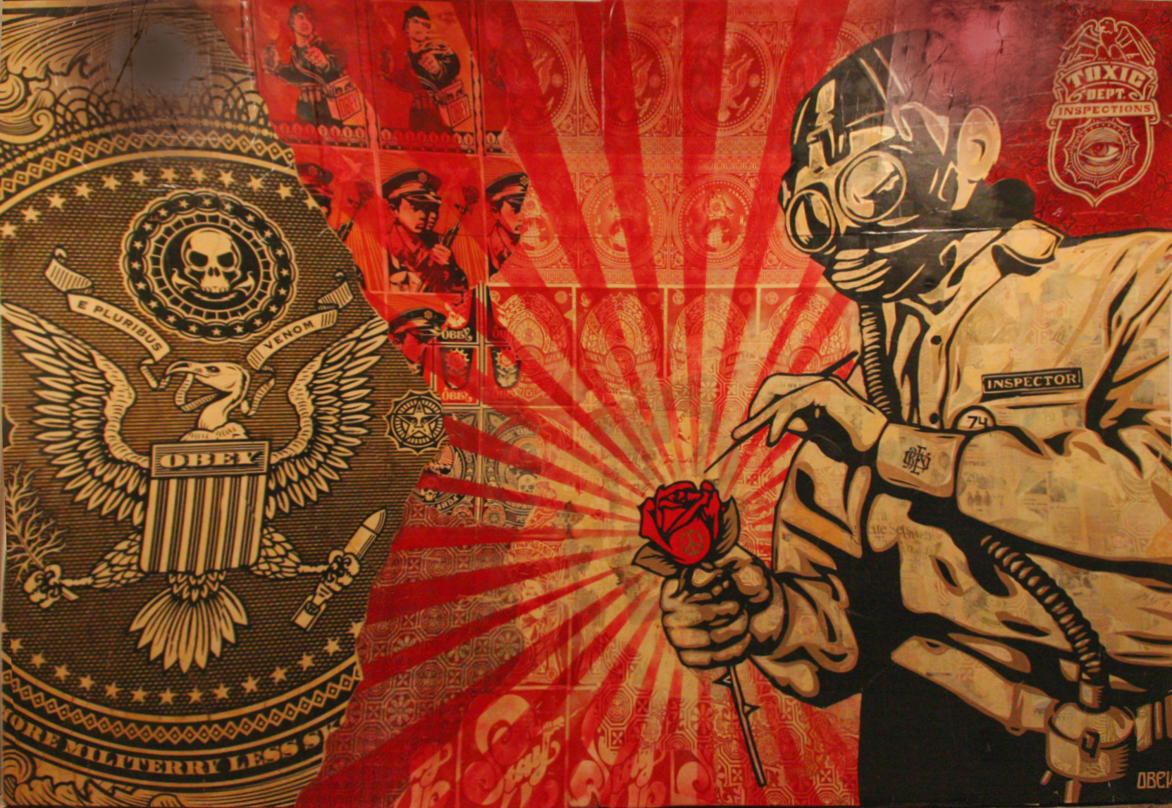 Obey Shepard Wallpaper 1663x1146 Obey Shepard Fairey 1663x1146
